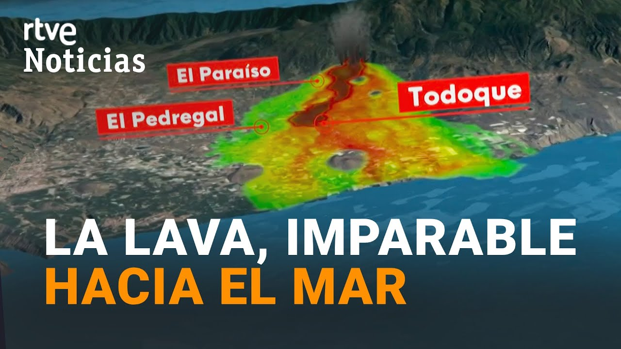 EXPLOSIONES y GASES NOCIVOS: las consecuencias de que la LAVA llegue al MAR | RTVE Noticias