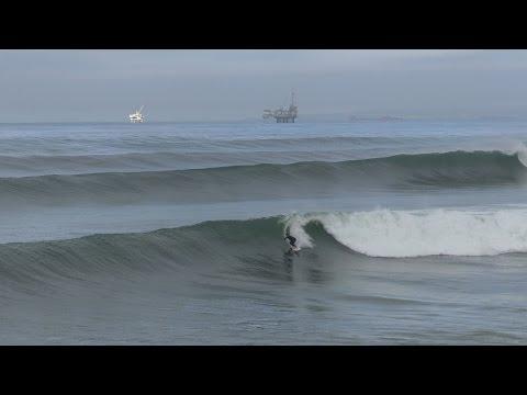 Huntington Beach, CA, Surf, 4/8/2017 - Part 4 (4K@30)