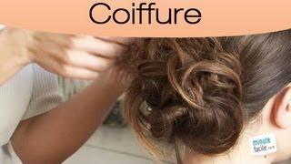 Coiffure : Comment faire un chignon bohème