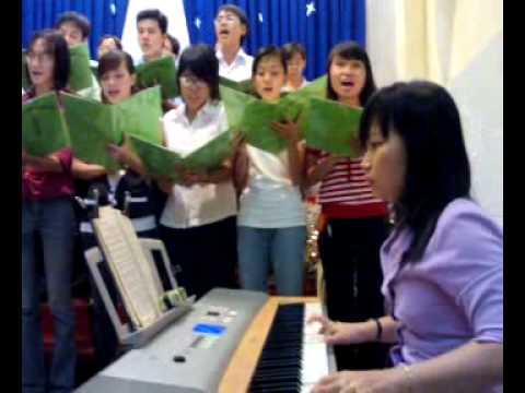 Ban Thanh Niên Bình Thới tổng dợt Giáng Sinh 2008