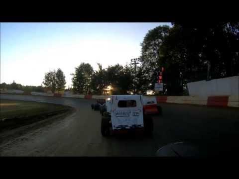 River City speedway Dwarf car A-main event Sept 1st 2013