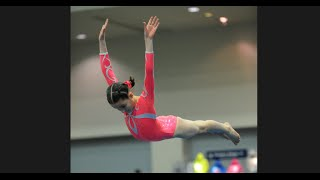 Annie the Gymnast | Level 7 Gymnastics Meet 7 | Acroanna