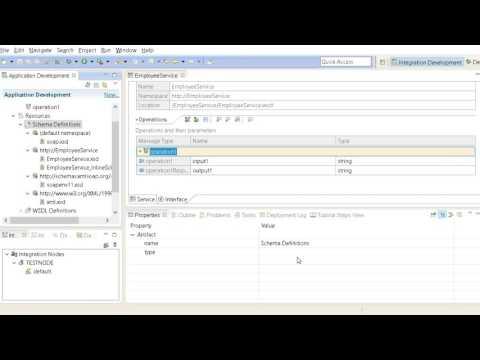 5 IBM Integration Bus v10 Tutorials WebServices Implimentation