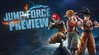 JUMP FORCE 📕 Preview zur Vollversion in 4K