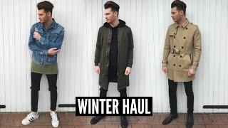 Mens Fashion Haul Winter 2018 - Fall Lookbook #Ad