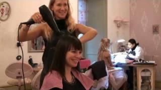Выпрямление волос: химическое, перманентное в салоне