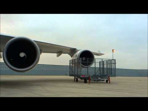 how to start engines pmdg 747