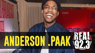 anderson paak live from the bet radio room bet weekend 2018