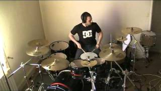 Green Day Drum cover: Wake me up when september ends.mpg