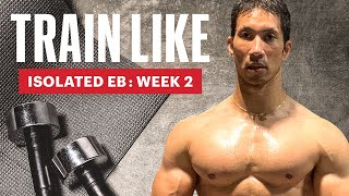 MH's Fitness Director's Water Jug Quarantine Workout | Train Like Isolated Eb | Men's Health