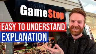 GameStop Stock, Reddit, and Robinhood explained at a high level