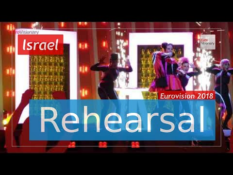 Netta - TOY - Eurovision 2018 Israel (Rehearsal)