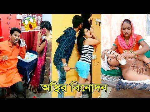হাঁসতে চাইলে ভিডিওটি দেখুন | অস্থির বিনোদন । New Bangla Best #TikTok Funny Comedy Videos #MastiTv24