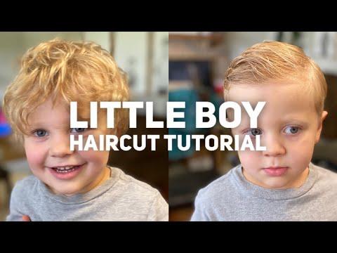 Little Boy Haircut Tutorial