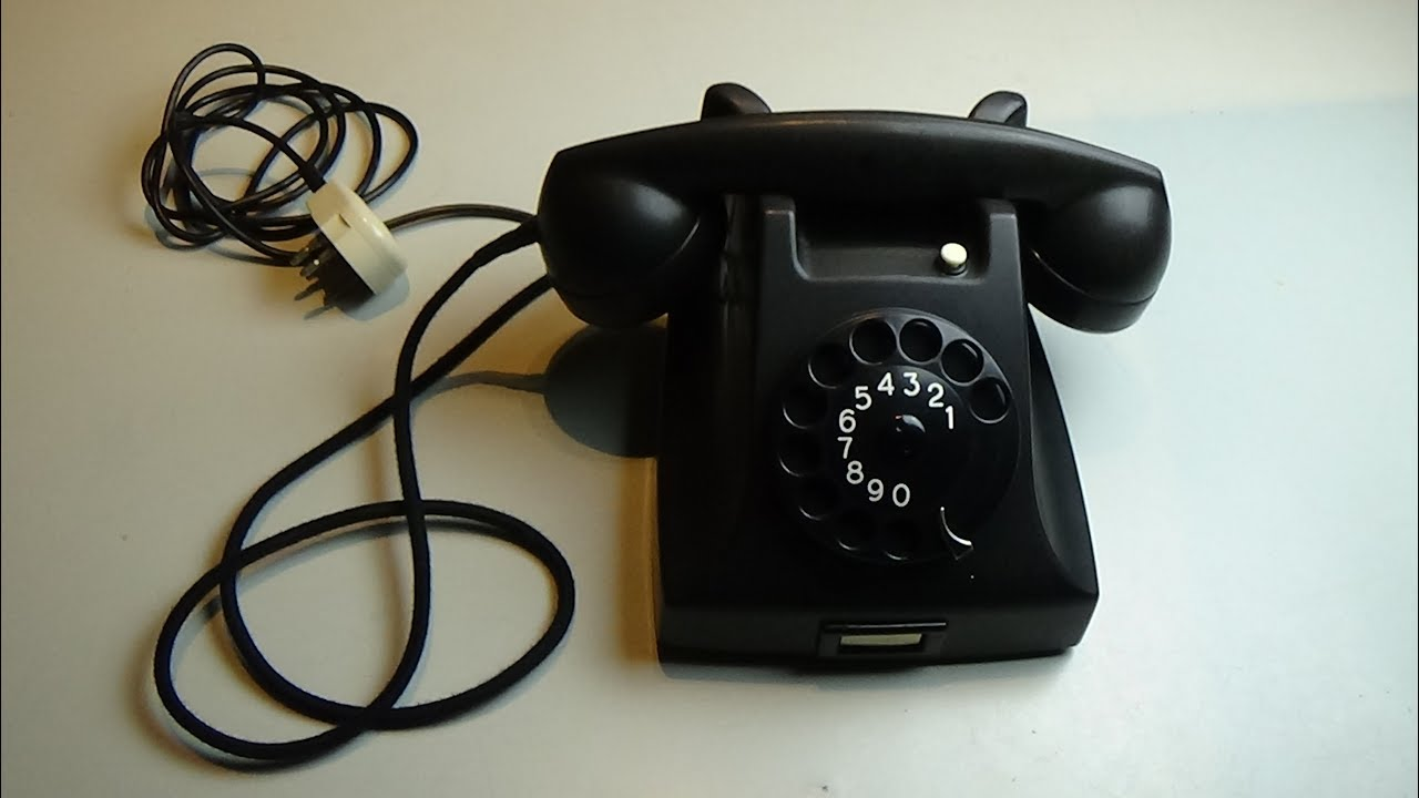 PTT - Ericsson Telephone - Old, vintage / retro 50s 60s Phone ring, example  movie #32 4bq