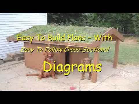 Flat Roof Dog House Plans   YouTubeFlat Roof Dog House Plans