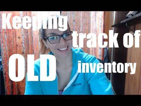 How OLD is your inventory? Easy ways to keep track!