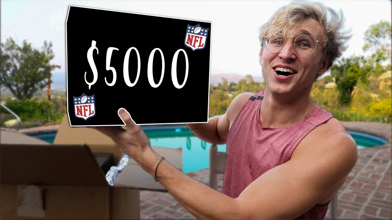 Opening $5000 NFL Mystery Boxes!