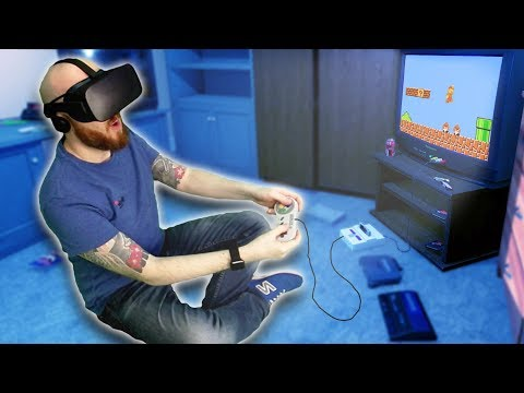 Awesome Way To Play Retro Games In Virtual Reality