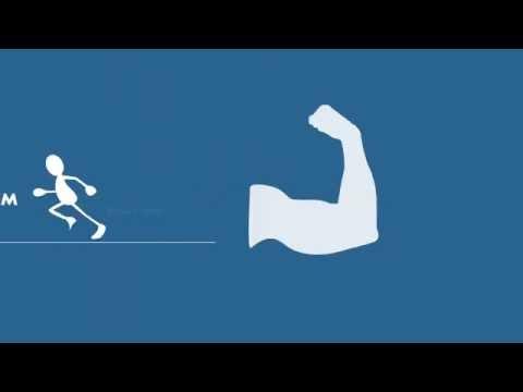 Рекомендации по здоровому образу жизни от студии Sembi 3D, Видео Инфографика, ЗОЖ