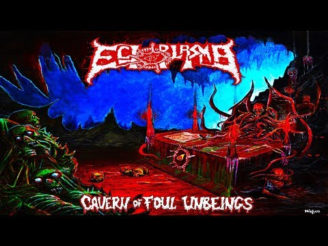 • ECTOPLASMA - Cavern Of Foul Unbeings [Full-length Album] Old School Death Metal