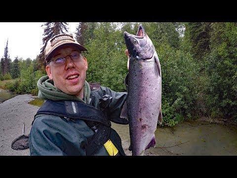 Alaska Adventure - Part 1  Traveling to Alaska and Fishing for salmon