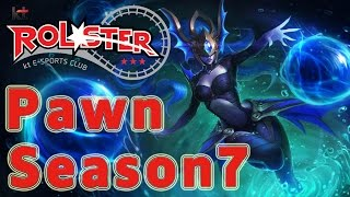 KT Rolster Pawn Syndra MID vs Akali Patch 6.24