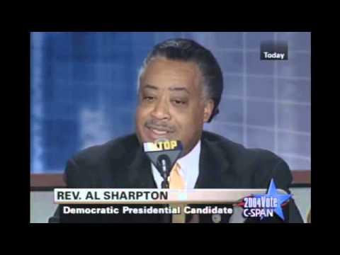 2004: Al Sharpton Explains Why He's Running For President ...