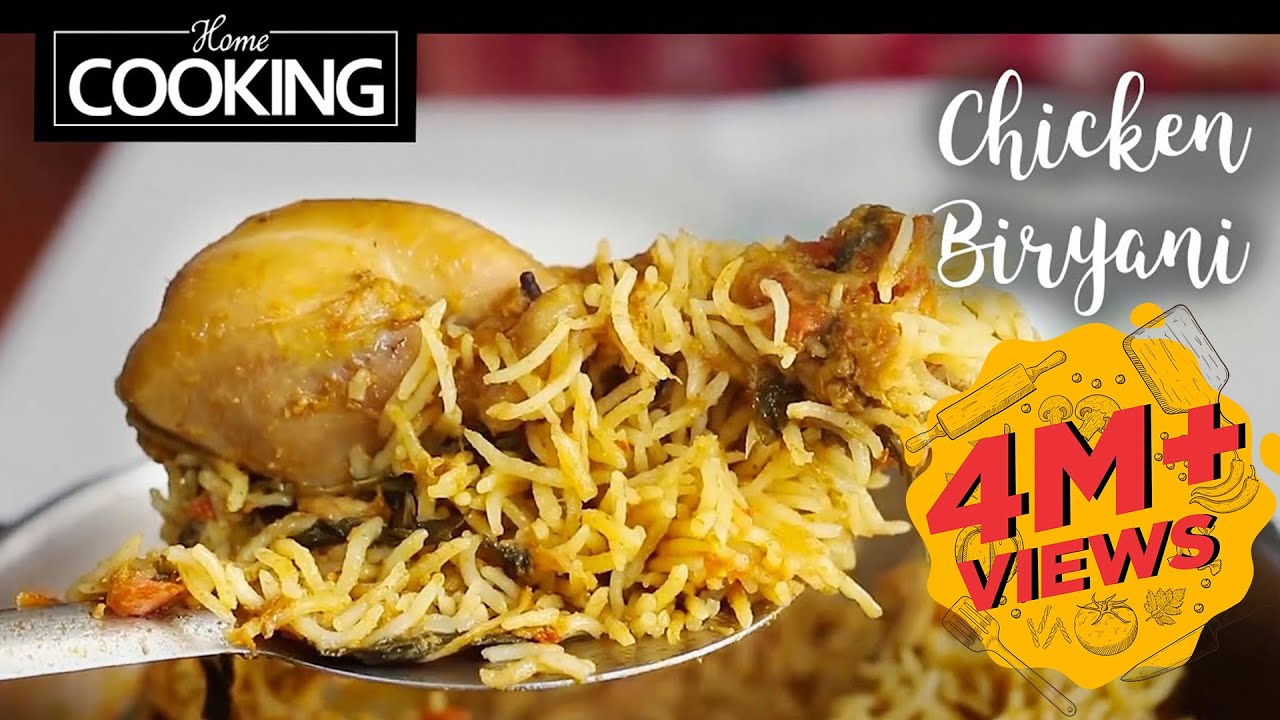 Chicken Biryani | Non-veg | Ventuno Home Cooking - YouTube