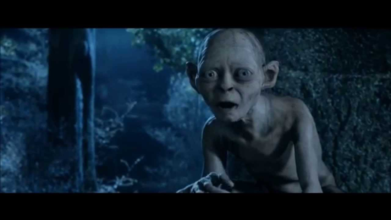 lord of the rings the two towers gollum and sméagol youtube