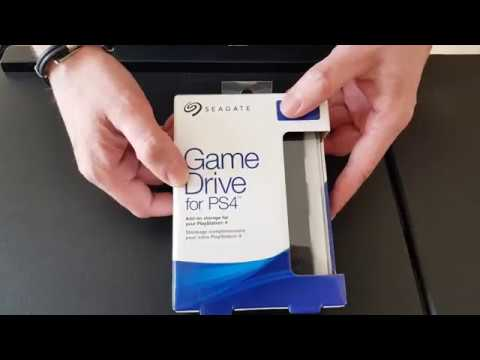 seagate game drive 4tb for ps4 disque dur externe unboxing youtube