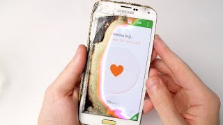 Samsung Galaxy S5 Heart Attack Indicator