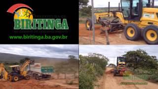 Prefeitura de Biritinga intensifica trabalho de recuperação das estradas vicinais
