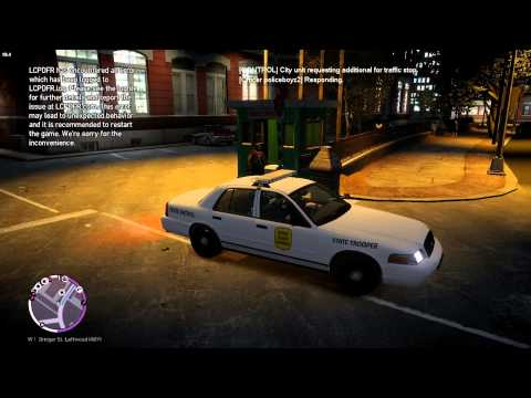 GTA IV LCPDFR 1.1 part 16 IOWA STATE