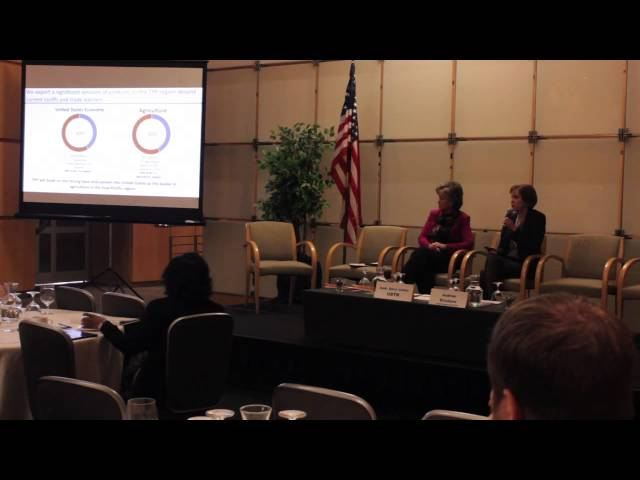 WITA TPP Series: What's at Stake for Agriculture-Amb. Darci Vetter 2/11/16