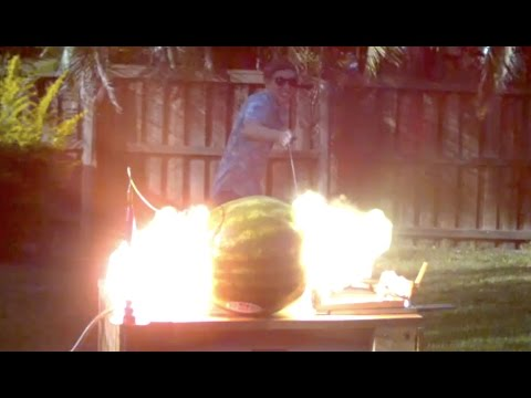 Thumbnail: What happens when you put 20,000 volts into a Watermelon?