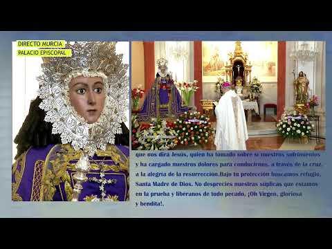 25/04/2020 Santa Misa Tarde desde el Palacio Episcopal de Murcia