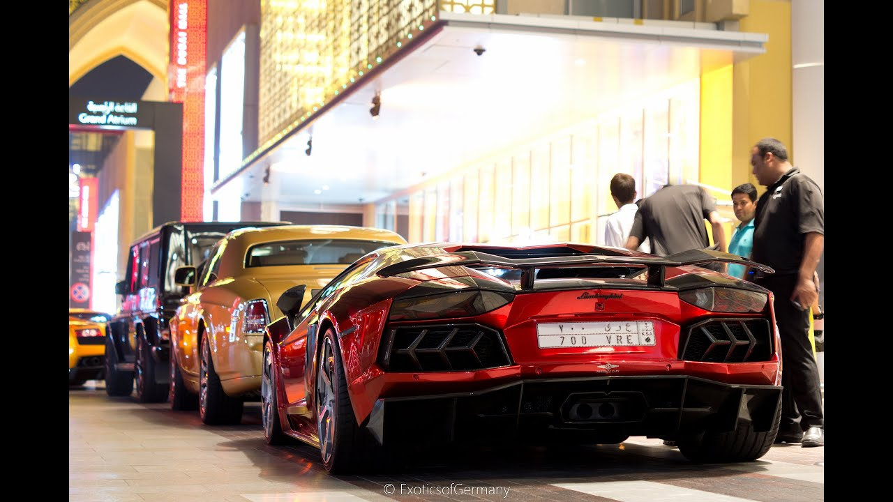 Supercars In Dubai Laferrari Spyder Sls Black Series