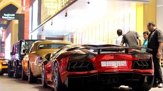 Supercars in Dubai 2015 - LaFerrari, 918 Spyder, SLS Black Series, Mansory Aventador (Part 1)