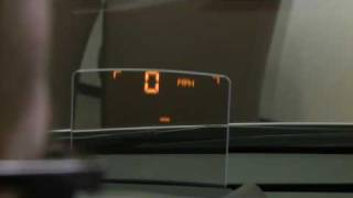 Peugeot 3008, Head Up Display