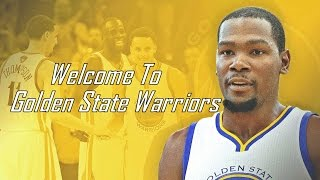 Kevin Durant - Me, Myself & I [Welcome To Golden State Warriors] ᴴᴰ