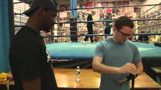 Mean Boxing Coach Eric Kelly
