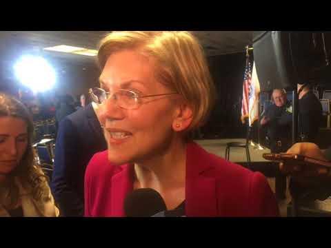 'I am not running for president of the United States,' US Sen. Elizabeth Warren says