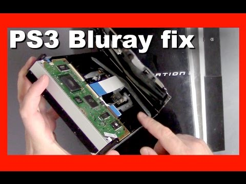 How to fix a PS3 FAT Bluray Drive