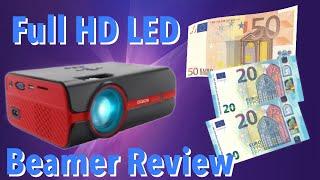 89 € Paick LED Full HD Beamer - Bekommt man was man zahlt oder doch mehr ? Paick Review Test