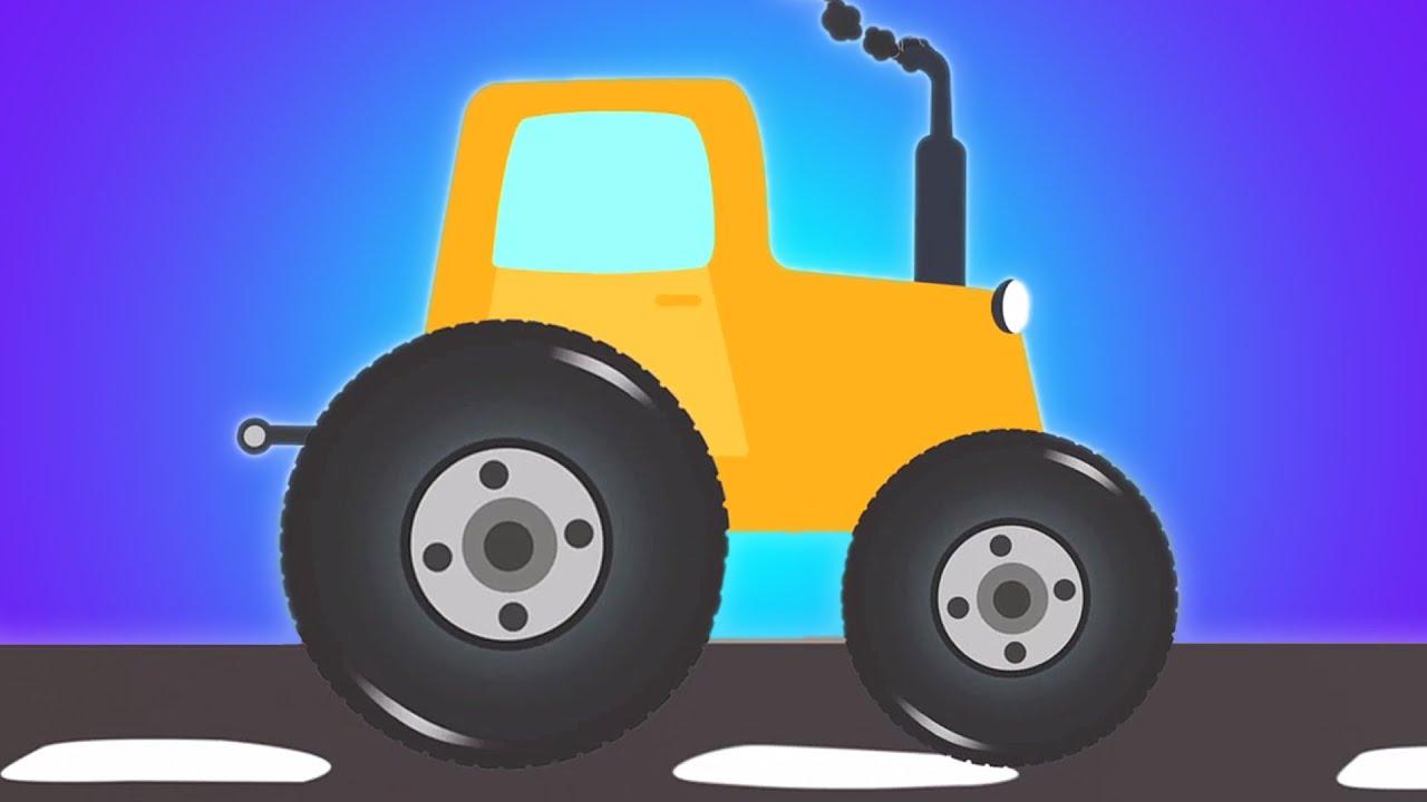 traktor fahrzeug video f r kinder zusammenstellung. Black Bedroom Furniture Sets. Home Design Ideas