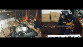 Bruno Mars - Chunky (Bass Drum Cover) by Davi Carvalho   Gianluca Pellerito