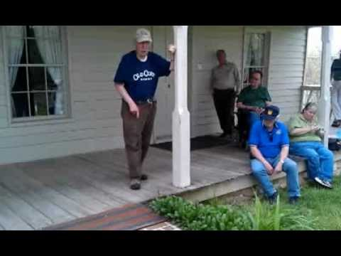 Ed Bearss tour of the surrender of Fort Donelson.