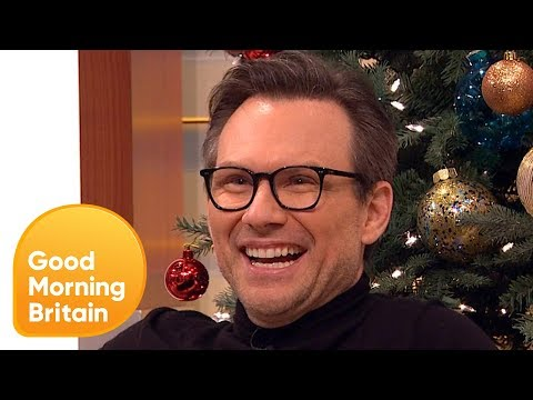 Christian Slater Shares Hilarious Stories About Jack Nicholson! | Good Morning Britain