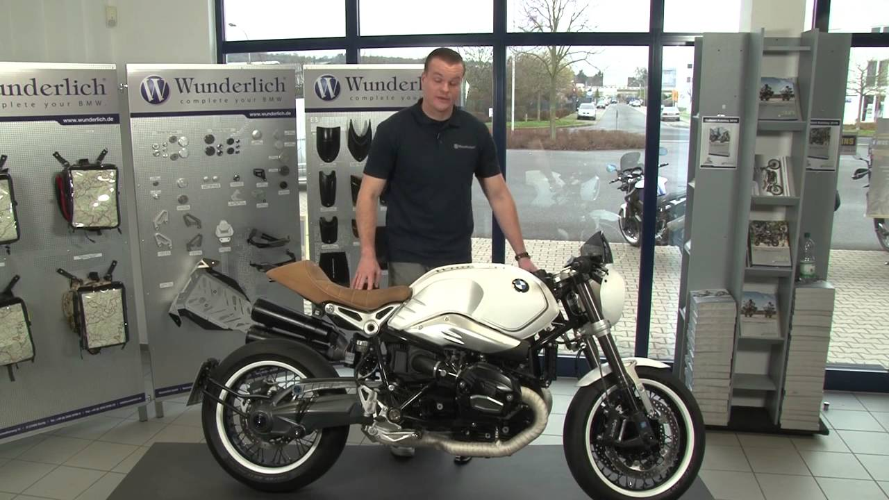 wunderlich 39 s modifications for the bmw r ninet youtube. Black Bedroom Furniture Sets. Home Design Ideas